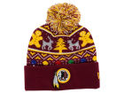 Washington Redskins New Era NFL Ugly Sweater Pom Knit Hats