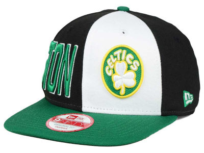 Boston Celtics NBA HWC My Block 9FIFTY Snapback Cap Hats