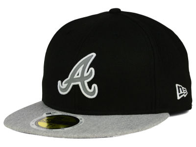 Atlanta Braves MLB Night Reflective 59FIFTY Cap Hats
