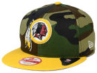 Washington Redskins New Era NFL Camo Heather 9FIFTY Snapback Cap Adjustable Hats