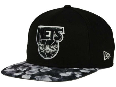 New Jersey Nets NBA HWC Floral Shadow 9FIFTY Snapback Cap Hats