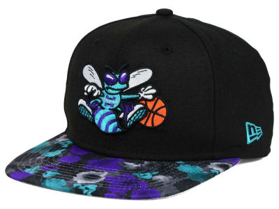 Charlotte Hornets NBA HWC Floral Shadow 9FIFTY Snapback Cap Hats