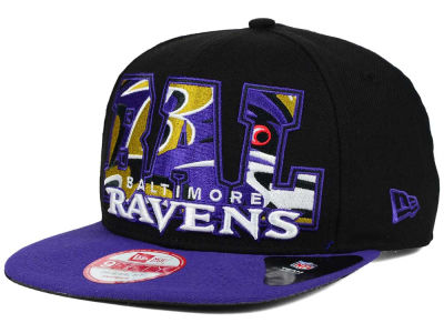 Baltimore Ravens NFL Big City 9FIFTY Snapback Cap Hats