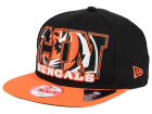 Cincinnati Bengals New Era NFL Big City 9FIFTY Snapback Cap Adjustable Hats