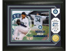 Seattle Mariners Felix Hernandez Highland Mint Single Coin Player Photo Mint Bronze Collectibles