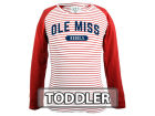 Ole Miss Rebels NCAA Toddler Girls Joelle Long Sleeve T-Shirt Infant Apparel