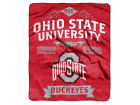 Ohio State Buckeyes The Northwest Company Raschel 50x60 Rebel Throw Bed & Bath