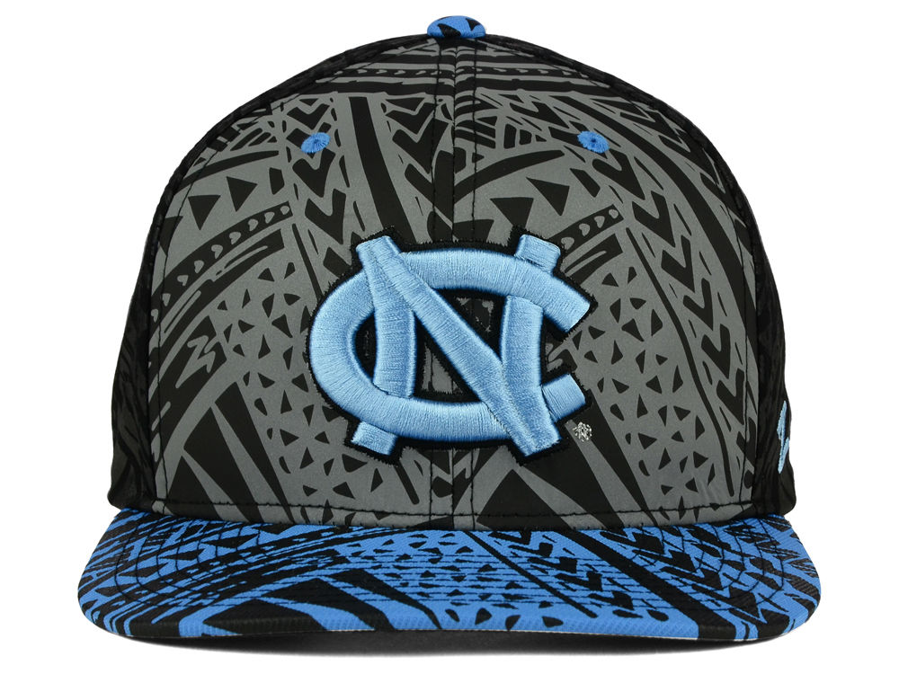 competitive price detailed pictures in stock North Carolina Tar Heels Zephyr NCAA Kahuku Snapback Hat high ...