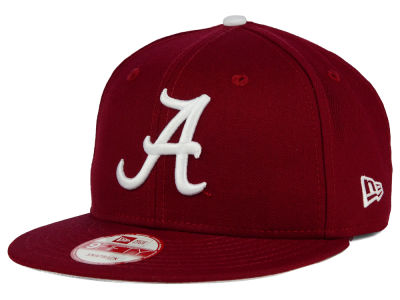 Alabama Crimson Tide NCAA Core 9FIFTY Snapback Cap Hats