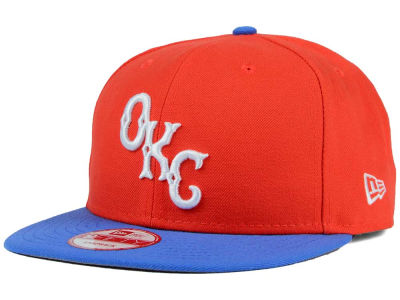 Oklahoma City Dodgers MiLB Custom Collection 9FIFTY Snapback Cap Hats