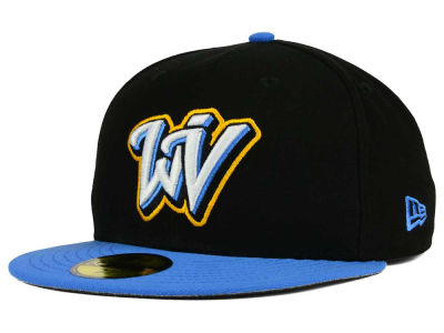 West Virginia Black Bears MiLB AC 59FIFTY Cap Hats
