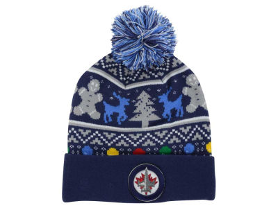 Winnipeg Jets NHL Ugly Sweater Knit Hats