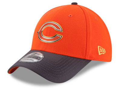 Chicago Bears NFL Gold Collection On Field 39THIRTY Cap Hats