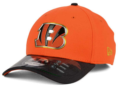 Cincinnati Bengals NFL Gold Collection On Field 39THIRTY Cap Hats