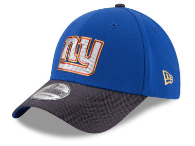 New York Giants NFL Gold Collection On Field 39THIRTY Cap Hats