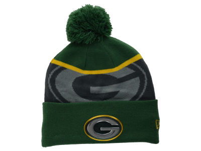 Green Bay Packers NFL Gold Collection Team Color Knit Hats