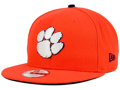 Clemson Tigers NCAA Core 9FIFTY Snapback Cap Hats