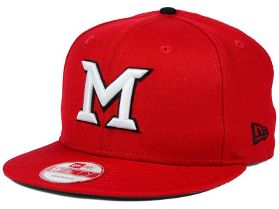 Miami (Ohio) Redhawks NCAA Core 9FIFTY Snapback Cap Hats