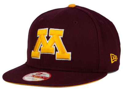 Minnesota Golden Gophers NCAA Core 9FIFTY Snapback Cap Hats