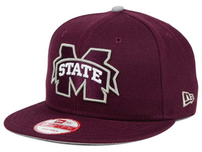 Mississippi State Bulldogs NCAA Core 9FIFTY Snapback Cap Hats