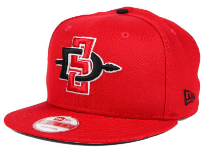 San Diego State Aztecs NCAA Core 9FIFTY Snapback Cap Hats
