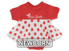 NCAA Newborn Polka Dot Dress