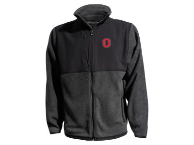 J America NCAA Men's Microfleece Jacket