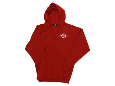 J America NCAA Men's Lightweight Full Zip Hoodie