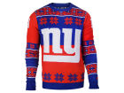 New York Giants Forever Collectibles NFL Men's Big Logo Ugly Sweater Sweatshirts