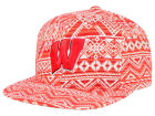 Wisconsin Badgers Top of the World NCAA Montezuma Snapback Cap Adjustable Hats