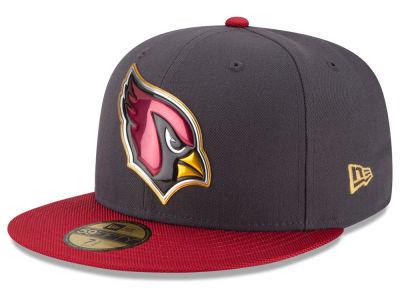 Lids Custom Hats >> Arizona Cardinals New Era NFL Gold Collection On Field ...