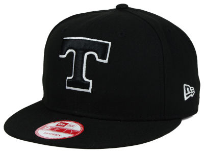 Tennessee Volunteers NCAA Black White Fashion 9FIFTY Snapback Cap Hats
