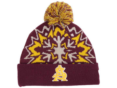 Arizona State Sun Devils NCAA Glowflake 2.0 Knit Hats
