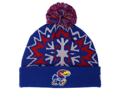 Kansas Jayhawks NCAA Glowflake 2.0 Knit Hats