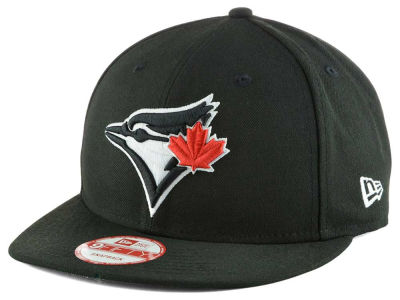 Toronto Blue Jays MLB Black White 9FIFTY Snapback Cap Hats