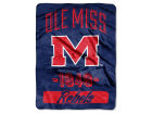 Ole Miss Rebels The Northwest Company Micro Raschel 46x60 Varsity Bed & Bath