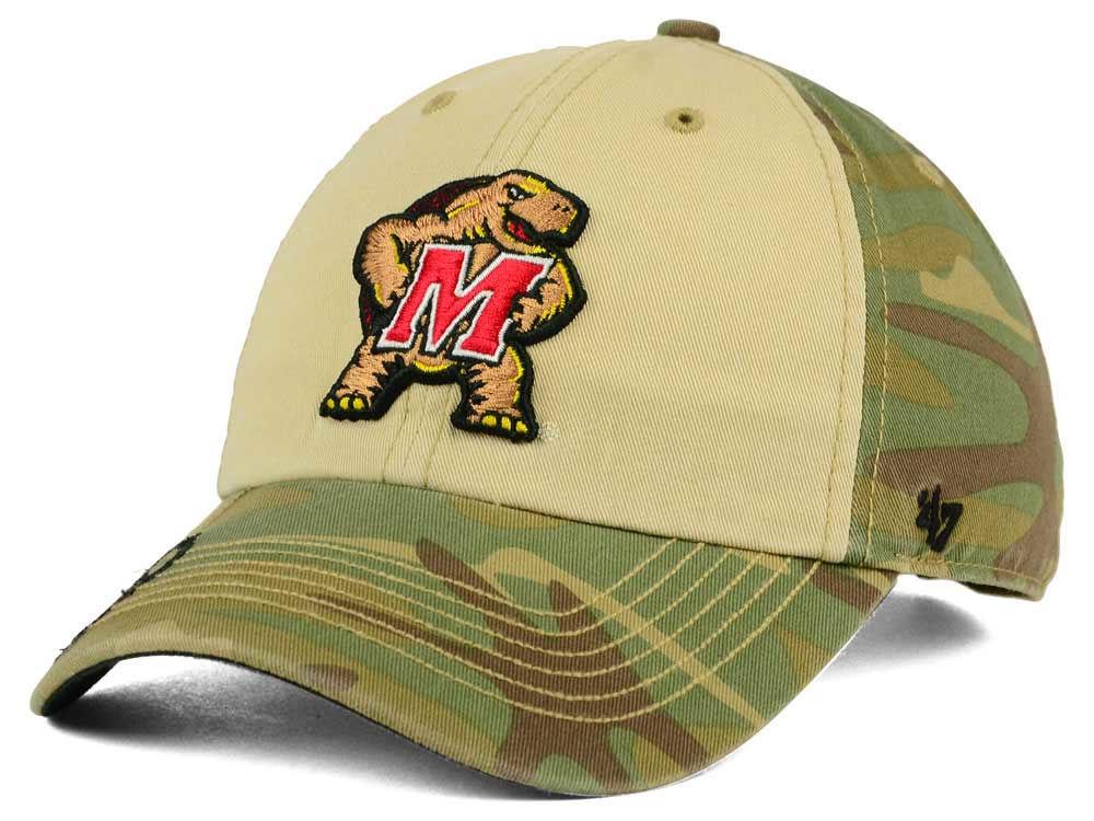 b693837af delicate Maryland Terrapins  47 NCAA Operation Hat Trick Gordie  47 CLEAN  UP Cap