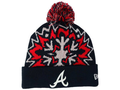 Atlanta Braves MLB Glowflake 2.0 Knit Hats