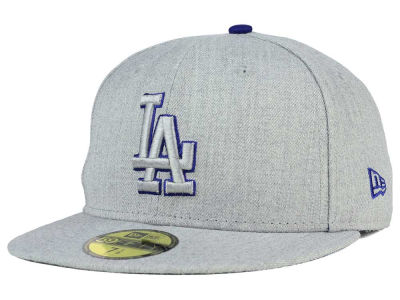 Los Angeles Dodgers MLB Heather League Basic 59FIFTY Cap Hats