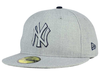 New York Yankees MLB Heather League Basic 59FIFTY Cap Hats