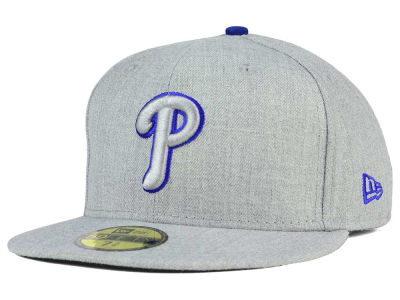 Philadelphia Phillies MLB Heather League Basic 59FIFTY Cap Hats