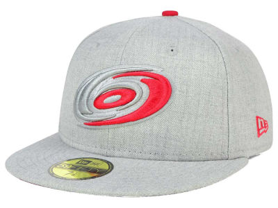 Carolina Hurricanes NHL Heather League Basic 59FIFTY Cap Hats
