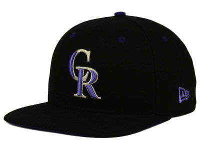 Colorado Rockies MLB Tribal Tone 9FIFTY Snapback Cap Hats