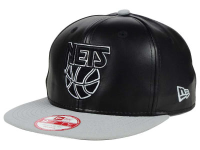 New Jersey Nets NBA HWC Smoothly Stated 9FIFTY Snapback Cap Hats