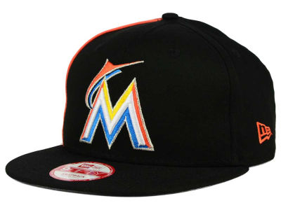 Miami Marlins MLB Panel Pride 9FIFTY Snapback Cap Hats
