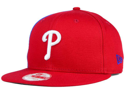 Philadelphia Phillies MLB Panel Pride 9FIFTY Snapback Cap Hats