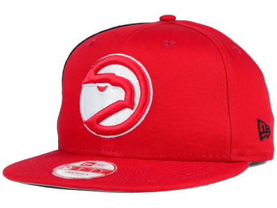 Atlanta Hawks NBA HWC Panel Pride 9FIFTY Snapback Cap Hats