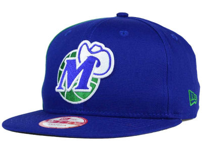 Dallas Mavericks NBA HWC Panel Pride 9FIFTY Snapback Cap Hats