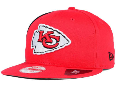 Kansas City Chiefs NFL Panel Pride 9FIFTY Snapback Cap Hats