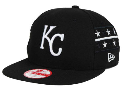 Kansas City Royals MLB Fine Side 9FIFTY Snapback Cap Hats